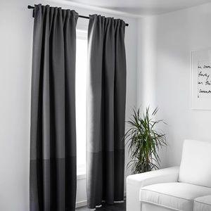  IKEA Marjun room darkening curtains
